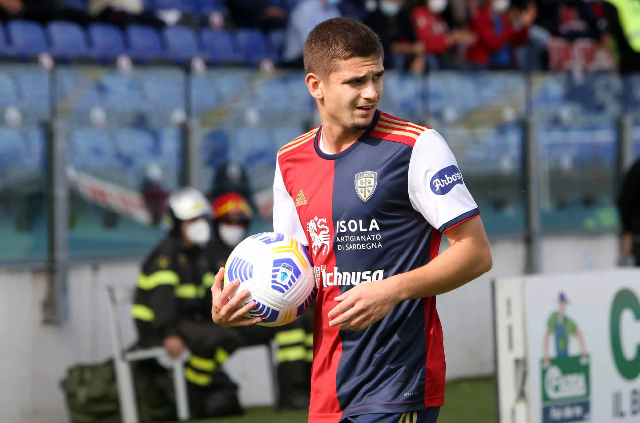 """Marin: """"Sento la fiducia di Di Francesco: siamo un gruppo forte"""" - Calcio  Casteddu"""